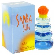 Samba Sun by Perfumers Workshop Eau De Toilette Spray 3.4 oz for Men