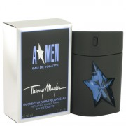 ANGEL by Thierry Mugler Eau De Toilette Spray Refillable (Rubber Flask) 1.7 oz for Men