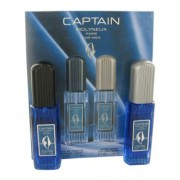 Captain by Molyneux Gift Set -- 2.5 oz Eau De Toilette Spray + 2.5 oz After Shave for Men
