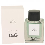 Le Fou 21 by Dolce & Gabbana Eau De Toilette Spray 1.7 oz for Men