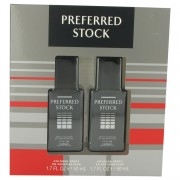 PREFERRED STOCK by Coty Gift Set -- Two 1.7 oz Cologne Sprays for Men