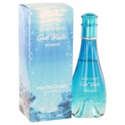 Cool Water Into The Ocean by Davidoff Eau De Toilette Spray 3.4 oz for Women