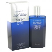 Cool Water Night Dive by Davidoff Eau De Toilette Spray 4.2 oz for Men