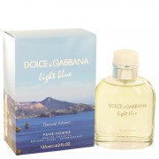 Light Blue Discover Vulcano by Dolce & Gabbana Eau De Toilette Spray 4.2 oz for Men