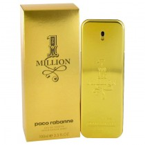 1 Million by Paco Rabanne Eau De Toilette Spray 3.4 oz for Men